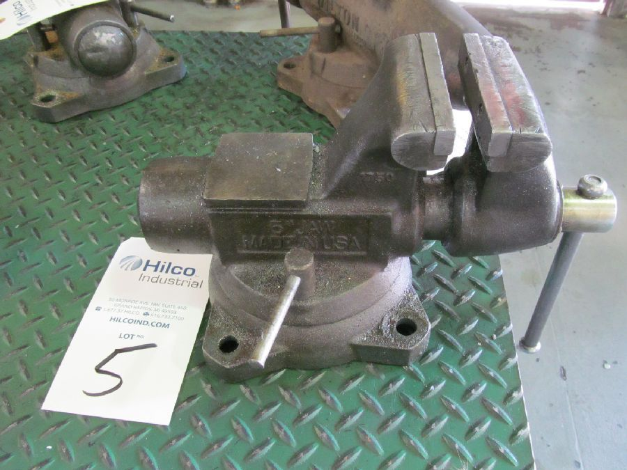 "Wilton Model 1750 5"" Bench Vise"