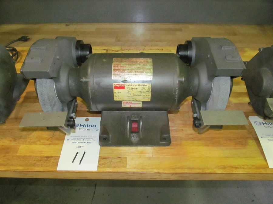 "Dayton Model 2Z341P 7"" Double End Grinder"