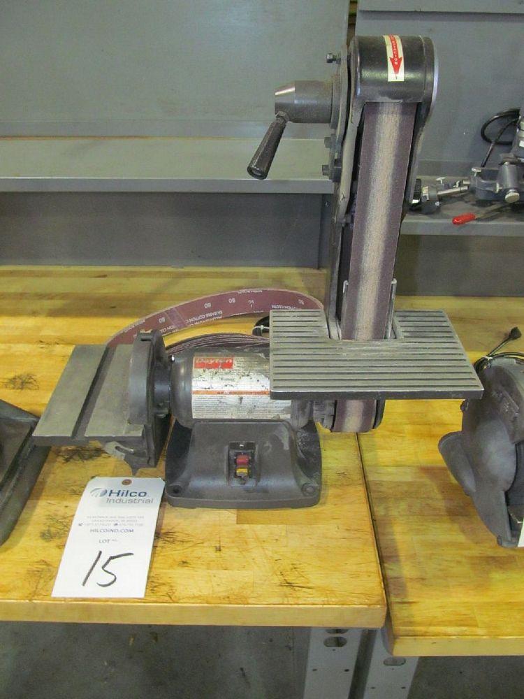 """Dayton Model 6Y945D 2"""" x 6"""" Combination Belt / Disc Sander"""