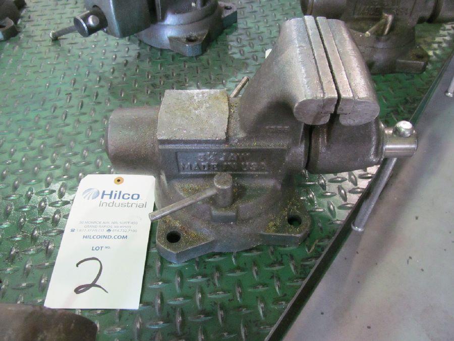"Wilton Model 1755 5.5"" Bench Vise"