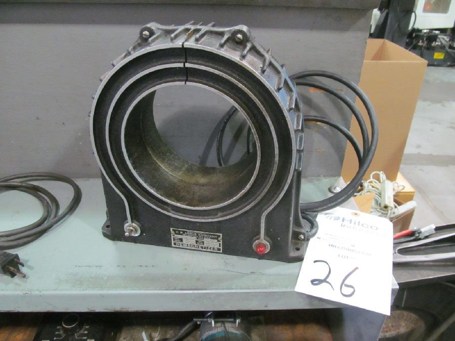 "R.B. Annis 6"" Circular Pass Thru Demagnetizer"