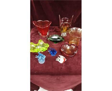 Large Selection Of Murano Glass ect