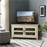 "Boxed 44"" Drift Wood TV Entertainment Stand RRP £200 (18502) Appraisals Available Upon Request) ("