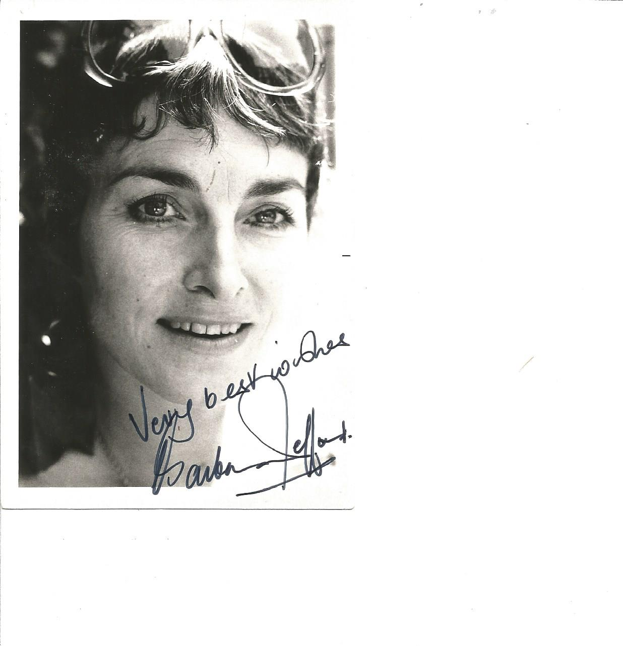 Lot 74 - Barbara Jefford signed 6x4 b/w photo. Good Condition. All signed pieces come with a Certificate of