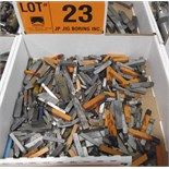 LOT/ CARBIDE TIPPED CUTTING TOOLS