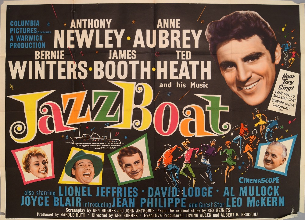 Lot 87 - 'Jazz Boat', 1960; Columbia Pictures; Pr
