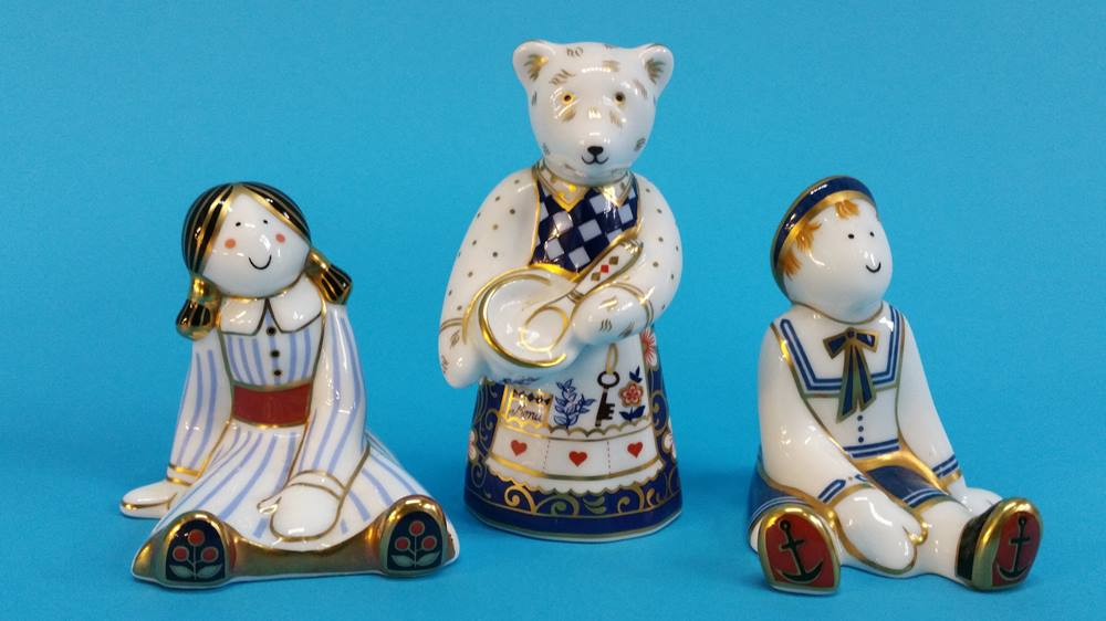 Lot 3 - Two Royal Crown Derby 'Treasures of Childhood' and
