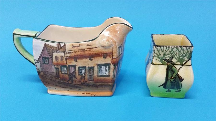 Lot 43 - A Royal Doulton Series Ware 'Mr Squeers' jug and a