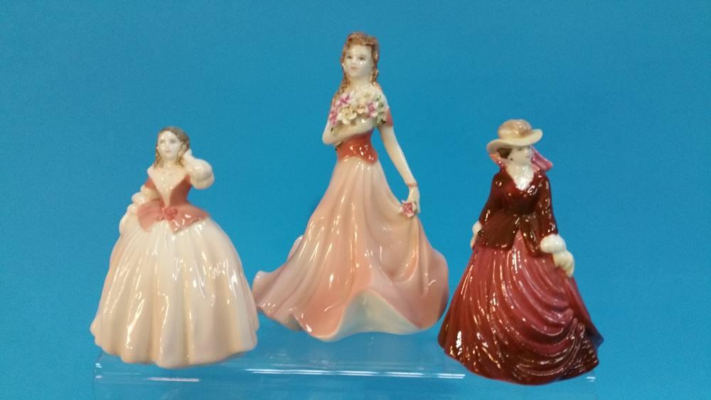 Lot 49 - A Collection of Coalport ladies etc.