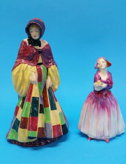 Lot 22 - A Royal Doulton figure 'The Parson's Daughter', HN
