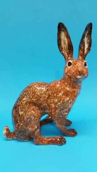 Lot 17 - A Winstanley Hare.
