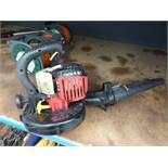 Petrol powered leaf blower