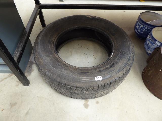 Bridgestone dueler tyre size 265/65/17