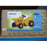 Boxed Caterpillar child's pedal dump truck