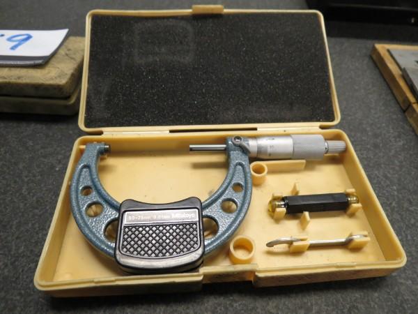 Lot 20 - Mitutoyo 75mm Micrometer