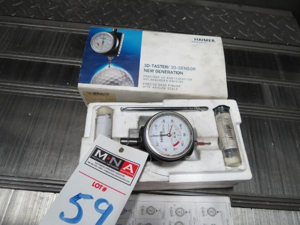 Lot 59 - Haimer 3-D Tester/3-D Sensor New Generation for YCM TV 158