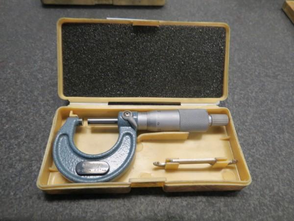 Lot 18 - Mitutoyo 25mm Micrometer