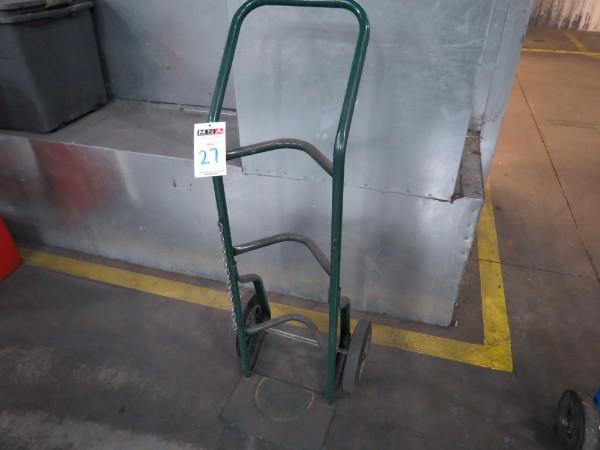 Lot 27 - Hand Truck Dolly For Gas bottle