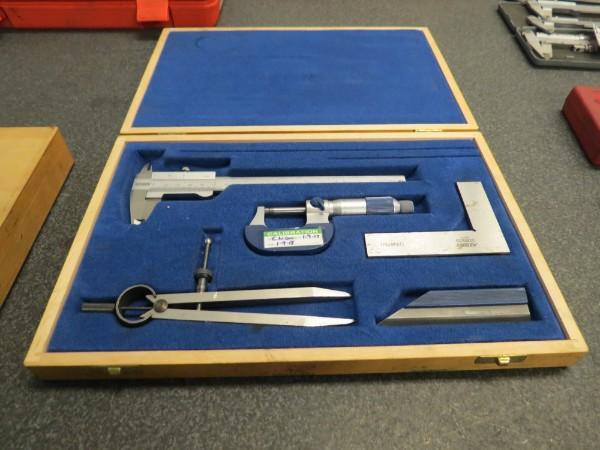 Lot 3 - Atorn Micrometer & Caliper Set