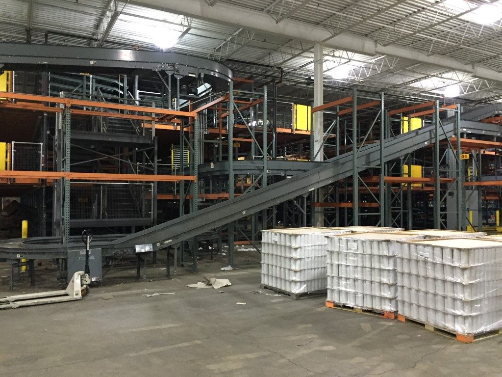 Complete Distribution Conveyor System Line consists of (Subject to  #995F32
