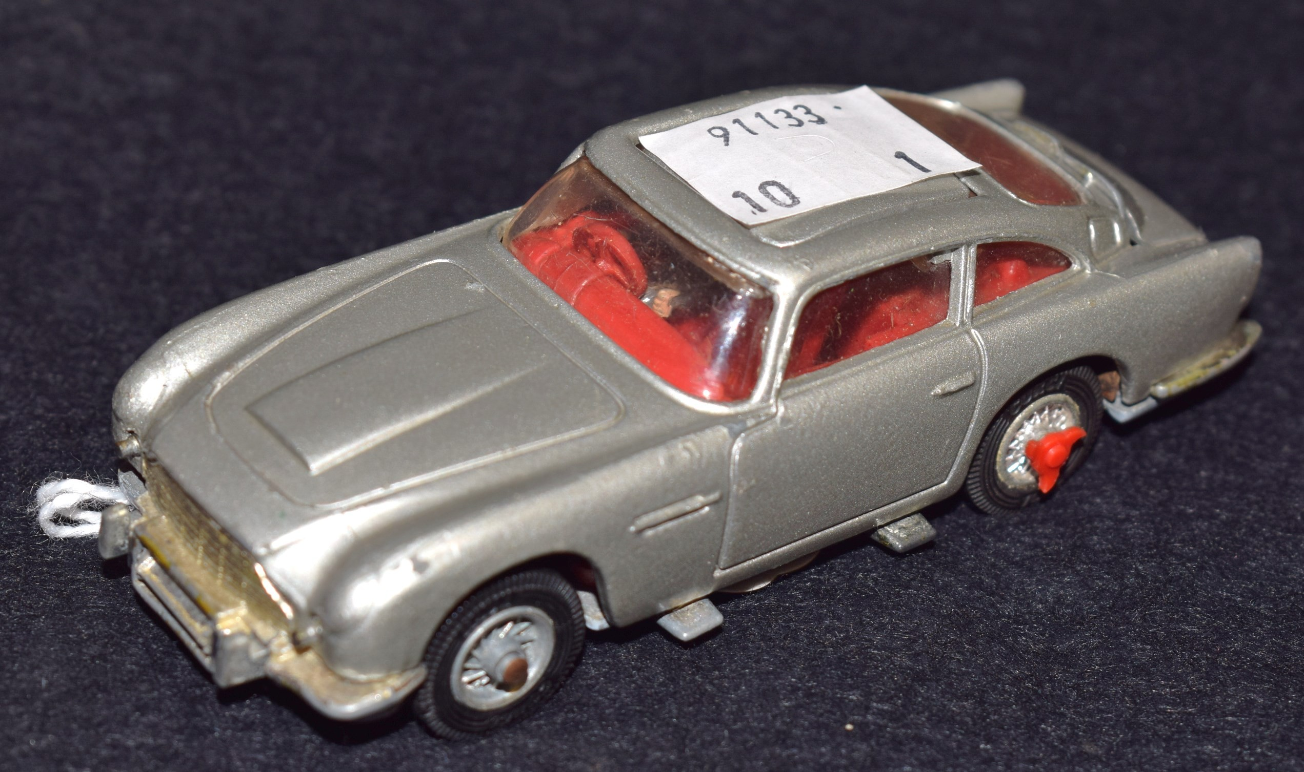 corgi toys - no 261, a james bond oo7 aston martin, db5, silver