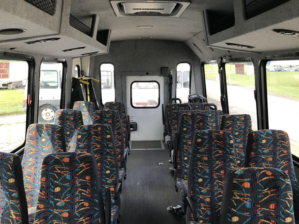 2014 FREIGHTLINER MODEL AMERITRANS, 38 SEAT PASSENGER COACH BUS - Image 11 of 19