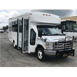 2013 FORD MODEL E450, 14 SEAT PASSENGER COACH BUS