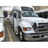 2009 FORD MODEL F650, 38 SEAT PASSENGER COACH BUS