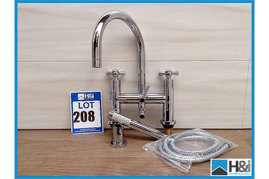 Pk364 chrome shower kit vie399 vienna tap handles in for How much is a bathroom worth on an appraisal