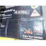 1 BOXED MOUNTFIELD HP454 HAND PROPELLED PETROL LAWNMOWER POWERED BY HONDA RRP £349.99