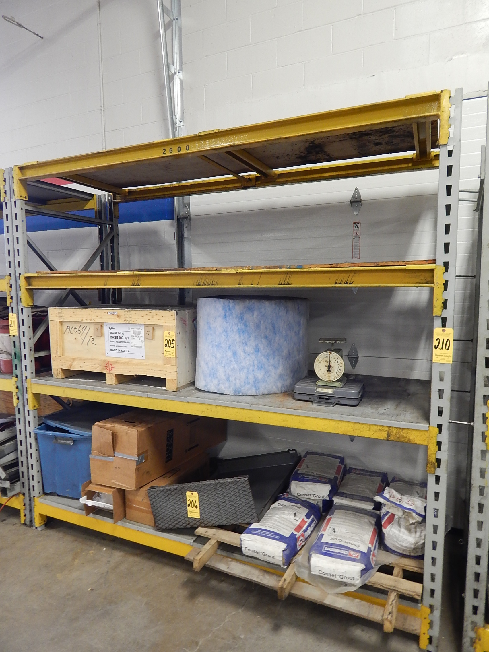 #A78C24  210 Pallet Shelving 1 Section 8 Ft. High X 8 Ft. Wide X 3 Ft. Deep with 1704x2272 px of Brand New 2 Foot Wide Shelves 22721704 pic @ avoidforclosure.info
