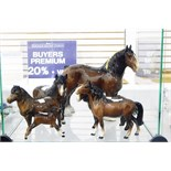 Beswick model of a shire horse, 21.