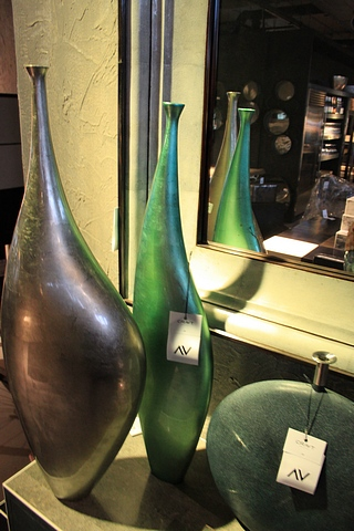 Lot 325 - Vase Balky this stunning green piece is delicately hand-crafted by artisans exquisite artistic