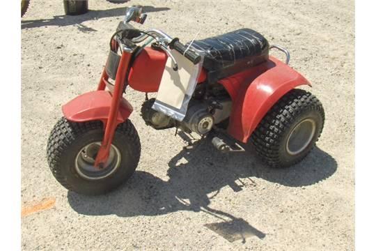1985 HONDA 70 ATC JH3TB0304FK006340 three wheeler, new tires