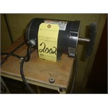 """SINGLE END WIRE BRUSH, 1/2"""", mtd. on stand"""