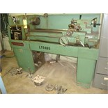ENGINE LATHE, CLAUSING 13 X 40, variable spd., w/accessories