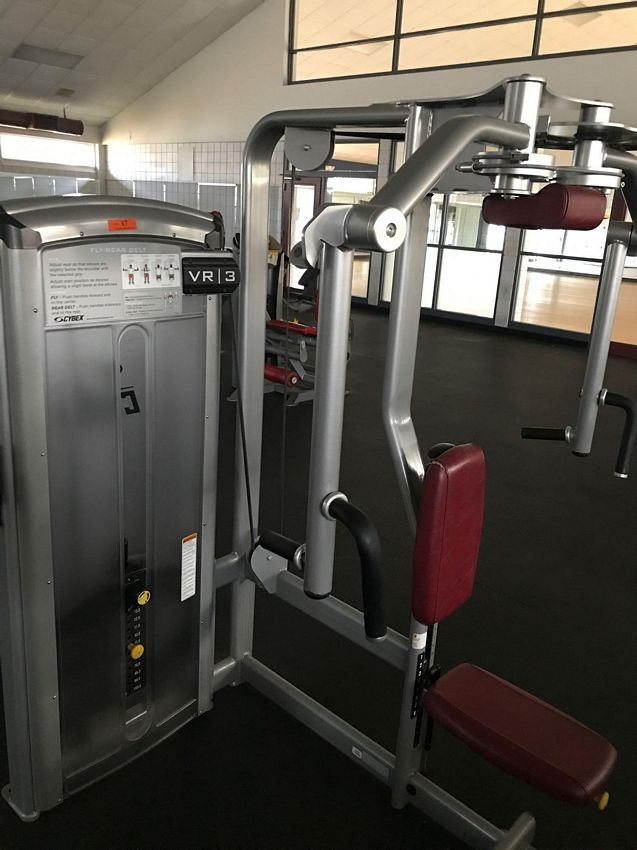 Lot 17 - (THIS ITEM NO LONGER FOR INDIVIDUAL SALE) CYBEX VR3 FLY / REAR DELT MACHINE