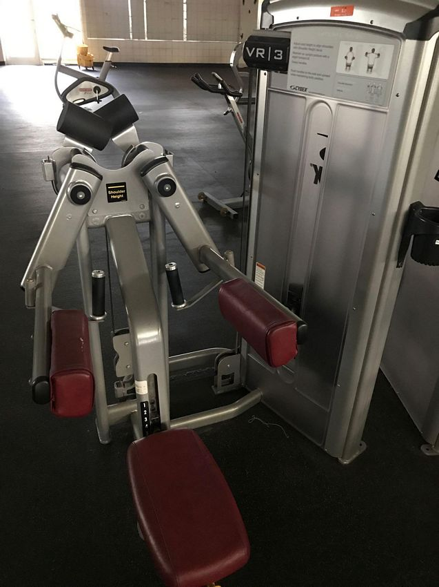 Lot 13 - (THIS ITEM NO LONGER FOR INDIVIDUAL SALE) CYBEX VR3 LATERAL RAISE MACHINE