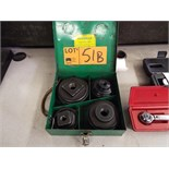 GREENLEE KNOCK OUT PUNCH SET
