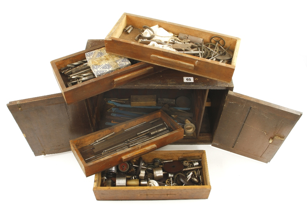 A four drawer chest of engineers tools G