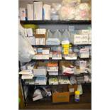 Lot - Assorted Supplies (Syringes, Tapes, Gloves, Etc.)