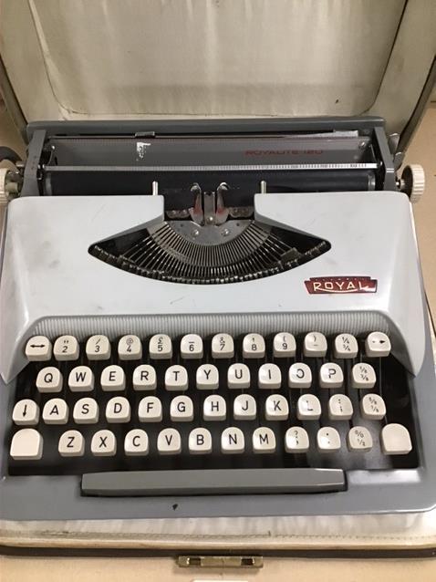 A CASED ROYAL TYPEWRITER - Image 3 of 3
