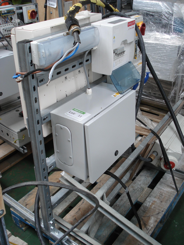 retail electrical unit 110v transformer europa fuse box lot 11 retail electrical unit 110v transformer europa fuse box mennekes unit