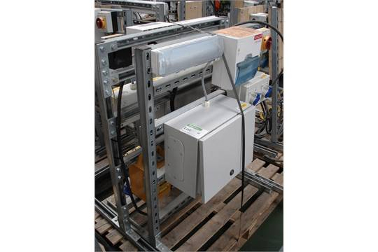 retail electrical unit 110v transformer europa fuse box x 2