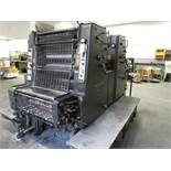 Heidelberg Type MOZP 2-Color Press, s/n 609-706 with Standard Dampening (Located in Palmer, MA)