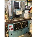 ZVL (TOS) SURFACE GRINDER, MODEL BRH-20A, S/N 803443, 25'' X 8'' - LOCATION, MONTREAL, QUEBEC