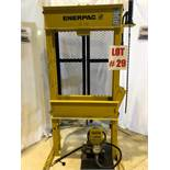 ENERPAC SHOP PRESS, MODEL C215900, S/N E119C, 15 TON - LOCATION, MONTREAL, QUEBEC