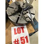 16 INCH 4 JAW CHUCK - LOCATION, MONTREAL, QUEBEC