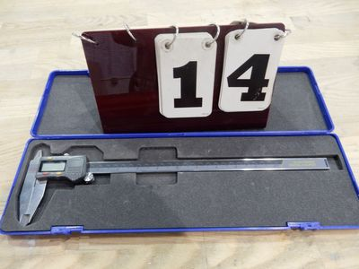 "Lot 14 - DIGITAL 12"" CALIPERS W/ CASE"