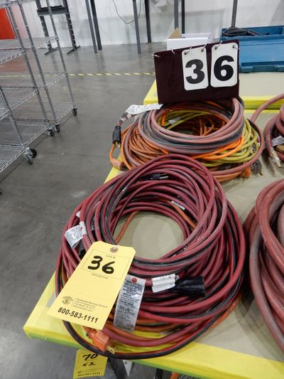 Lot 36 - EXTENSION CORDS
